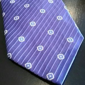 EUC Purple Tino Cosma Silk Tie